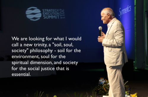 Satish Kumar in Brazil, 2011
